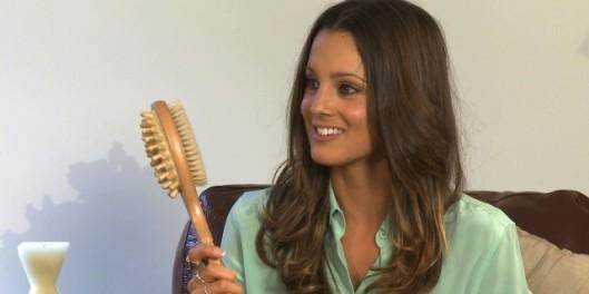 Mel brushes up on her skin health